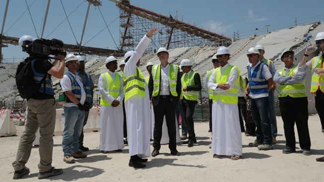 FIFA establish panel to monitor working conditions at Qatar 2022 venue sites