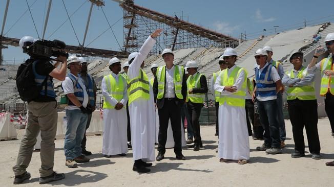 FIFA establish panel to monitor working conditions at Qatar 2022 venue sites