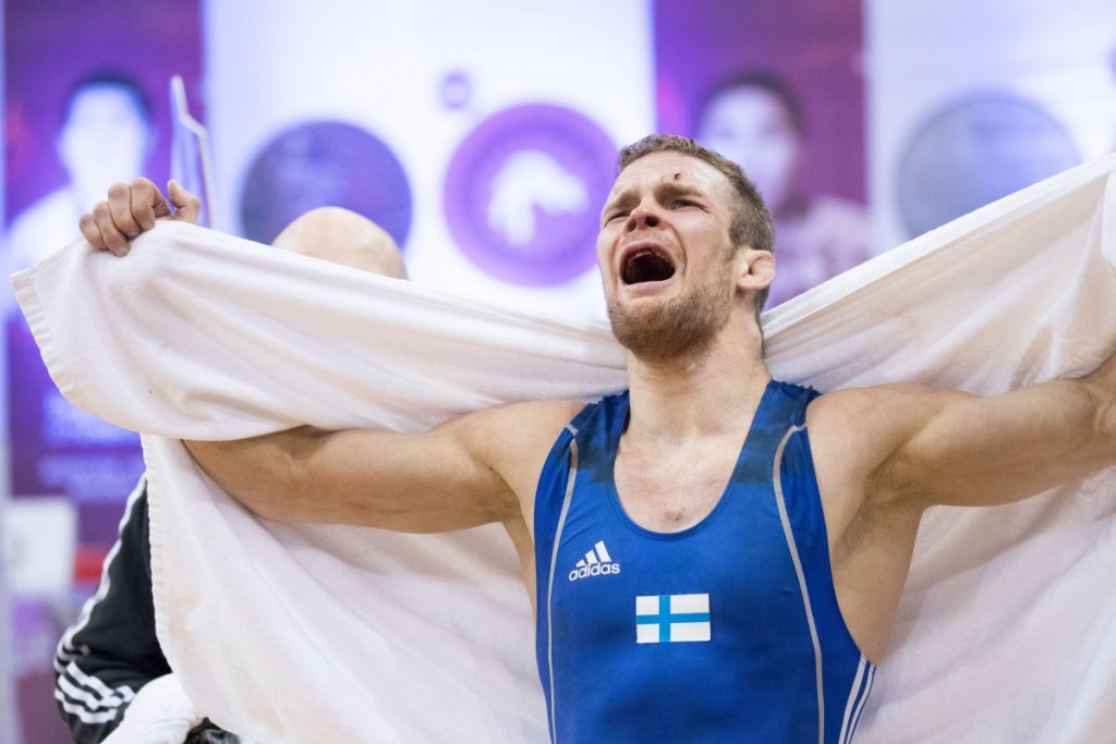 Double delight for Sweden and Uzbekistan at UWW World Olympic Games Qualifying Tournament
