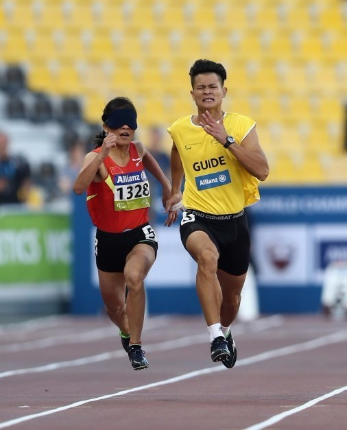 World records fall as home athletes dominate opening day of IPC Athletics Grand Prix in Beijing
