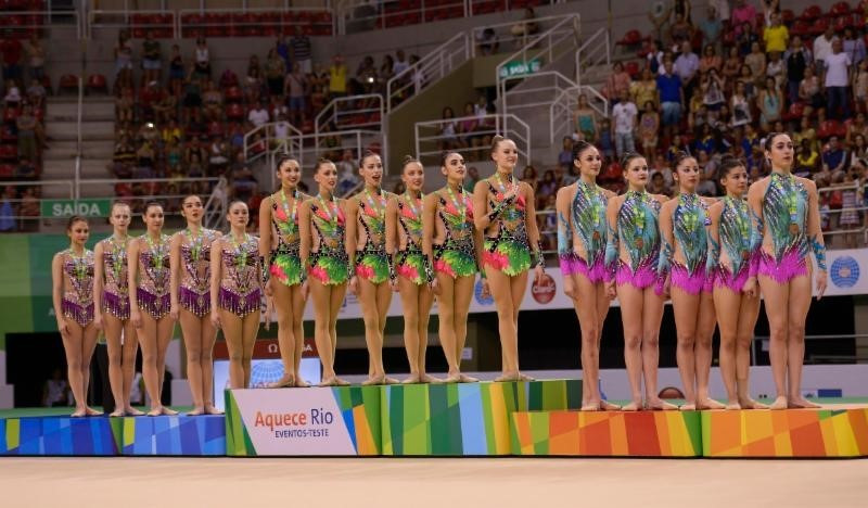 Rhythmic groups from Germany, Uzbekistan and Greece qualify for Olympics as Rio 2016 gymnastics test event ends