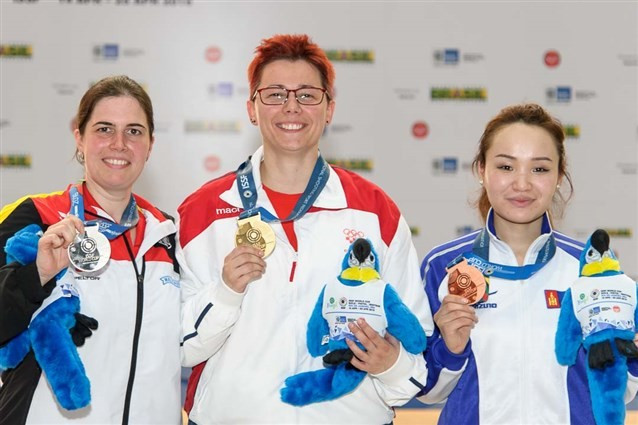 Croatian breaks world record on route to gold at ISSF World Cup in Rio de Janeiro