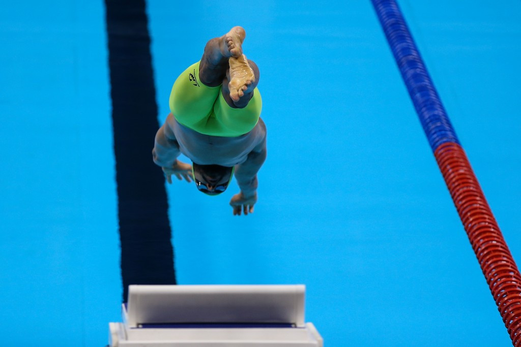 Brazilian twice breaks Americas record on good day for hosts at Rio 2016 Paralympic swimming test event