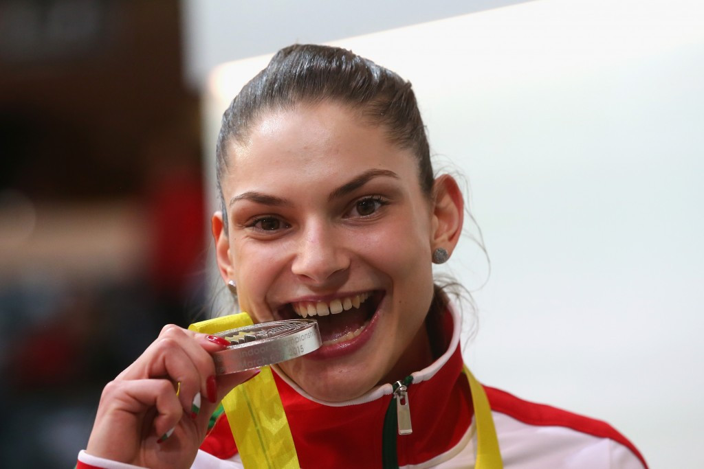 Bulgaria's Gabriela Petrova will be expected to threaten the podium at Rio 2016 should she avoid punishment ©Getty Images