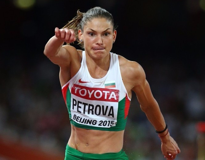 Gabriela Petrova has had her temporary suspension lifted by the IAAF ©Getty Images