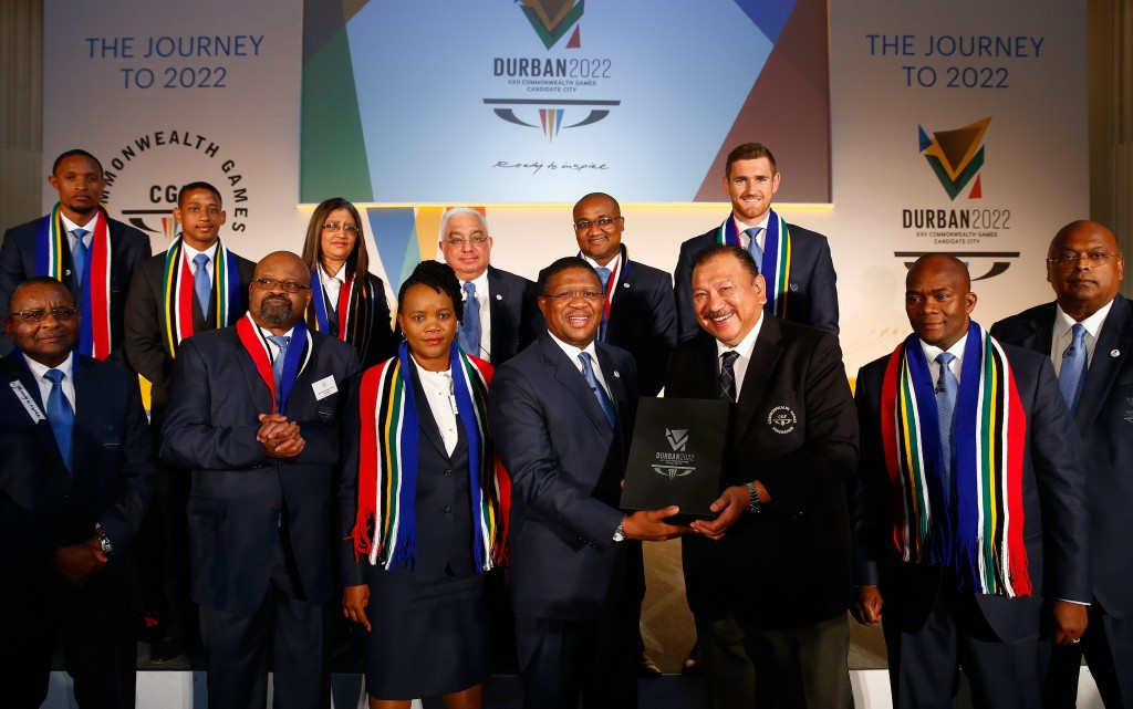 As the sole bidder for the Games, Durban are expected to be confirmed on September 2 at Auckland, New Zealand