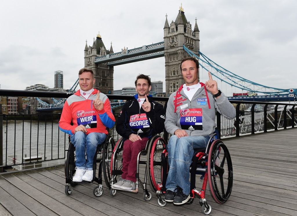 Defending champions return to London for IPC Marathon World Cup