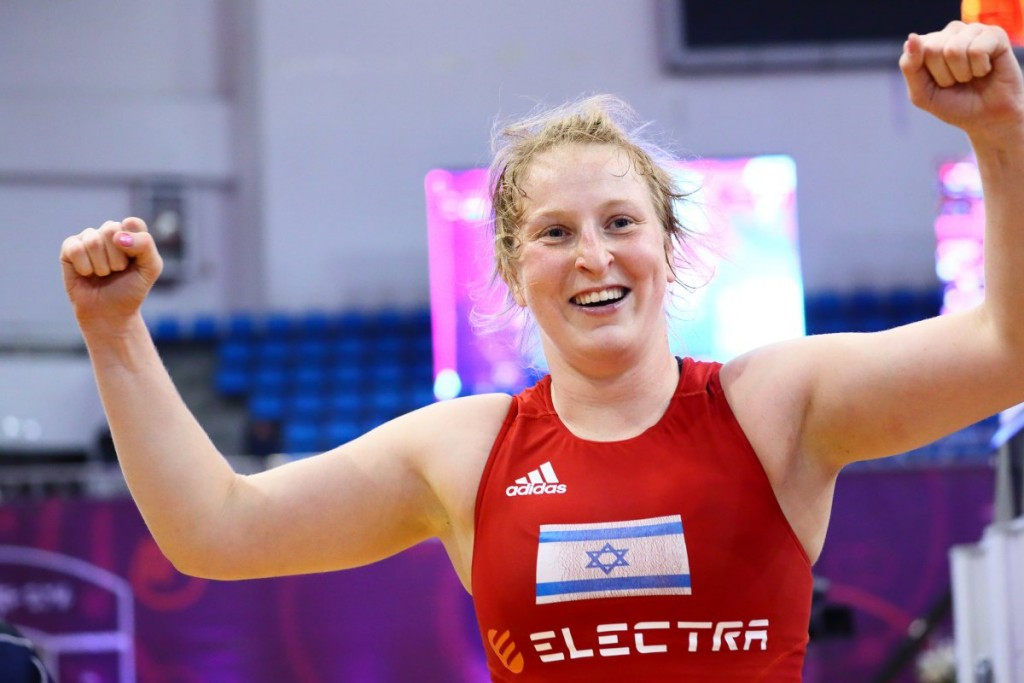 Israel qualify first female wrestler for Olympics