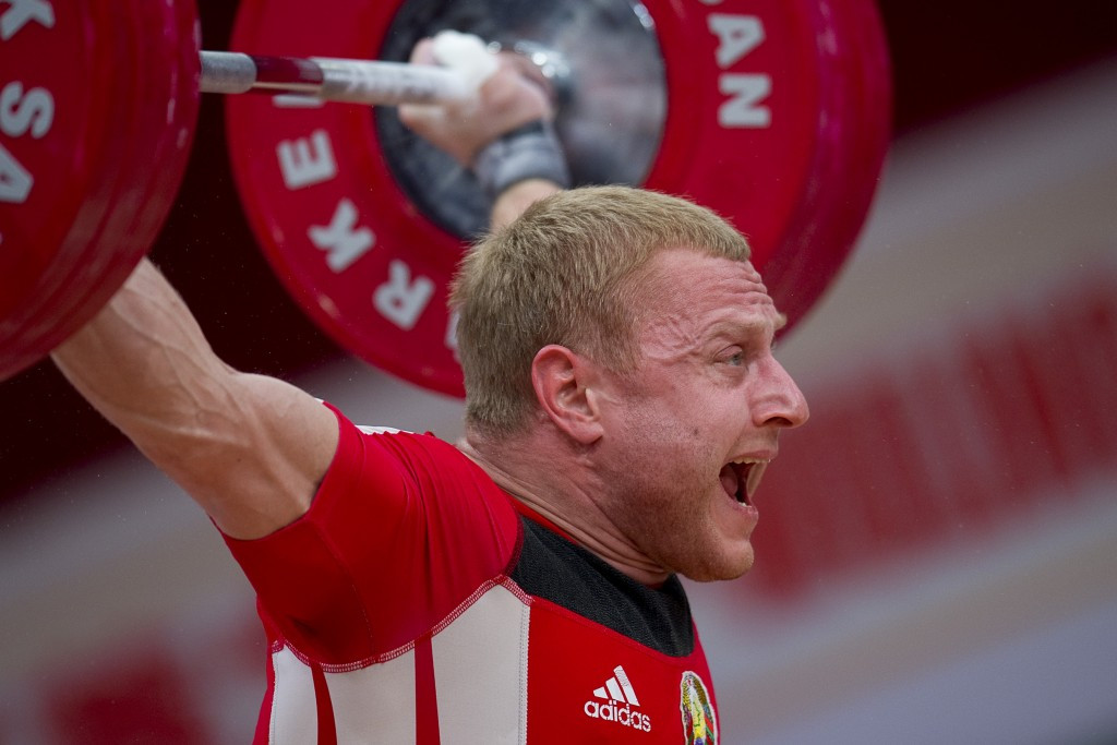 Andrei Rybakov will compete at the Asian Weightlifting Championships ©Getty Images