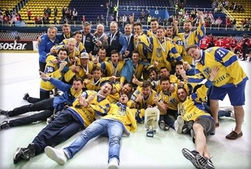 Ukraine promoted to IIHF World Championships DivisionIA on dramatic final day in Zagreb