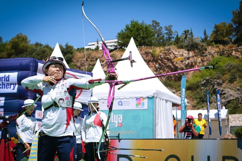 Underdogs China overcome odds to strike gold at Archery World Cup in Antalya