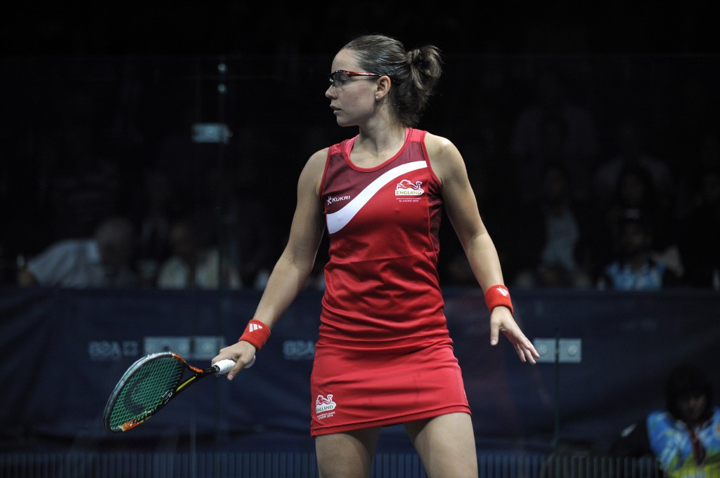Nadine Shahin of Egypt will face former world number two Jenny Duncalf of England in the main draw of the Professional Squash Association World Championship in Kuala Lumpur ©Getty Images