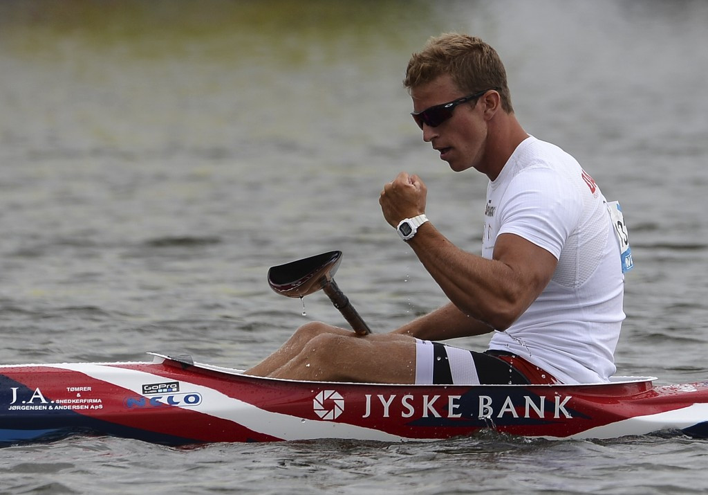 World champion Poulsen delights home crowd with Canoe Sprint World Cup victory in Copenhagen