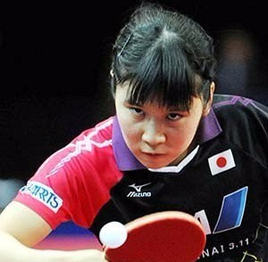 Japan's Miu Hirano overcame Yu Mengyu of Singapore to become the youngest ever winner of a women's ITTF World Tour title ©ITTF