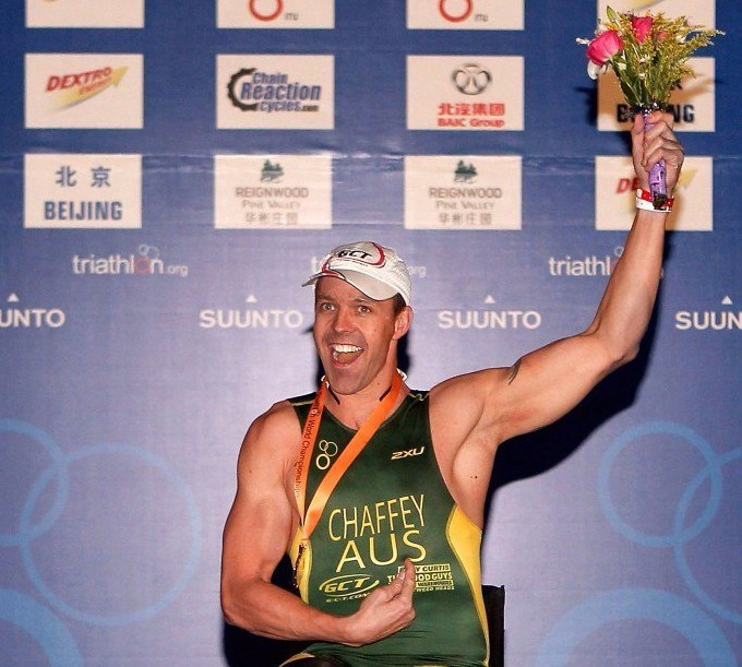 Australia's Chaffey claims spot at Rio 2016 to delight home crowd at ITU World Para-Triathlon Event in Castlereagh