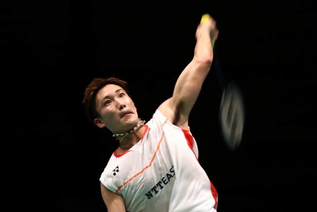 Japan's Kento Momota has been banned from competing at the Olympics after gambling at an illegal casino ©Getty Images