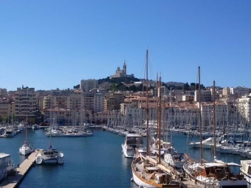 Sailing events will be held in the picturesque Mediterranean port city during the Games ©Paris 2024