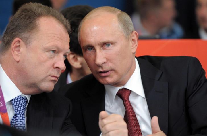 SportAccord President Marius Vizer is among Russian leader Vladimir Putin's closest sporting associates