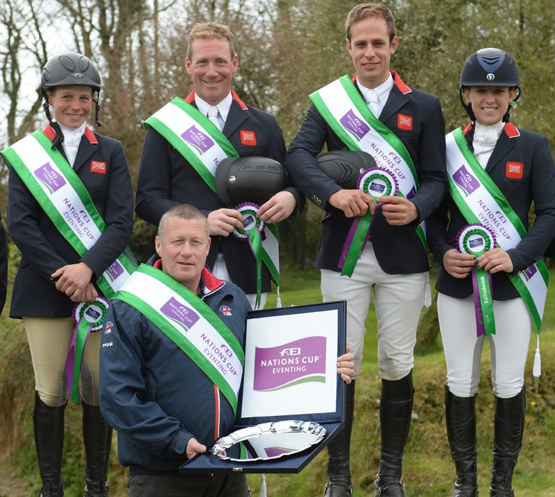 Britain claim third consecutive win at Ballindenisk leg of FEI Nations Cup Eventing