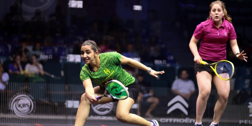 World number three Raneem El Welily is through to the second round of the event in Malaysia
