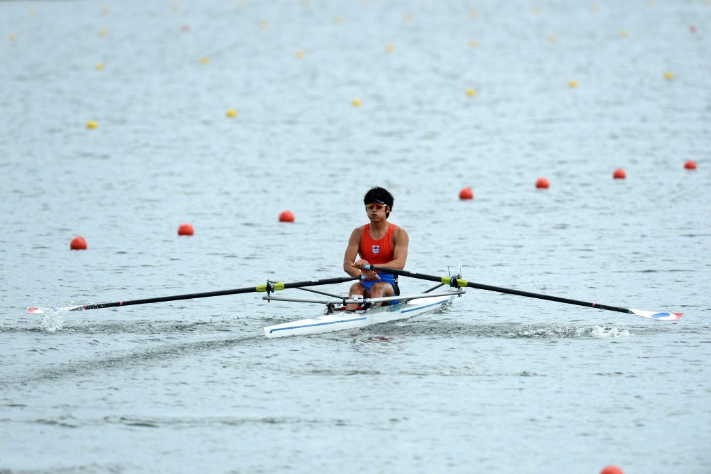 South Koreans secure Rio 2016 places with single sculls success at Asian and Oceania Olympic Qualification Regatta