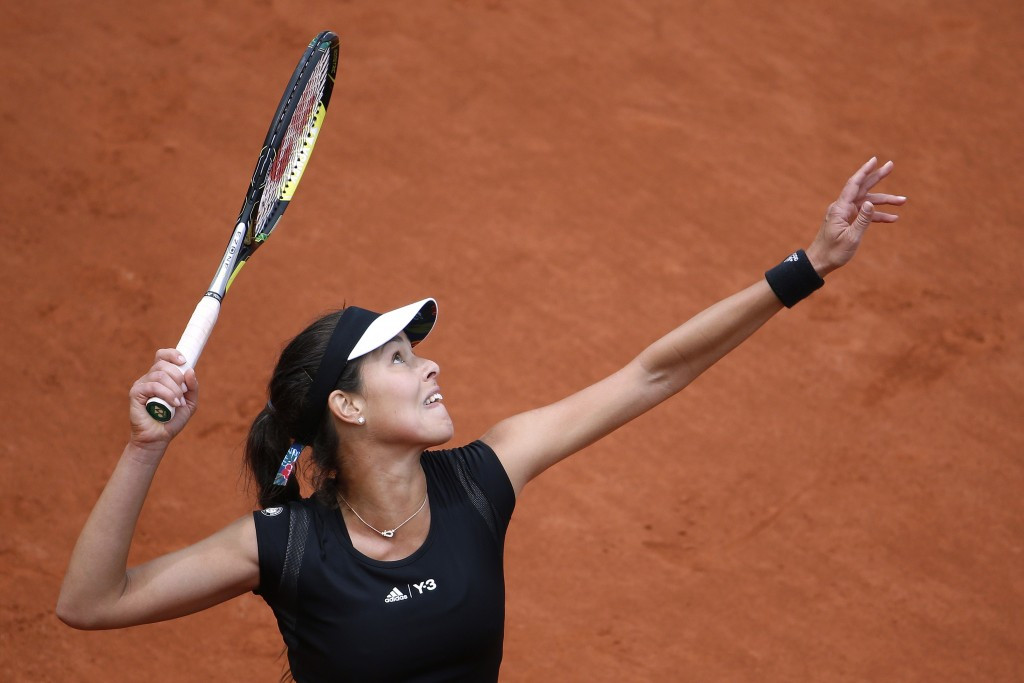 Ivanovic advances to French Open quarter-finals for first time since 2008 on rain-affected day