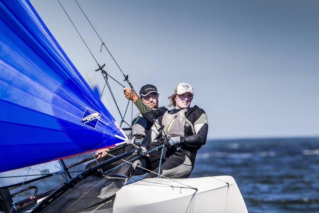 Home favourites Besson and Riou eyeing strong performance at Sailing World Cup in Hyères