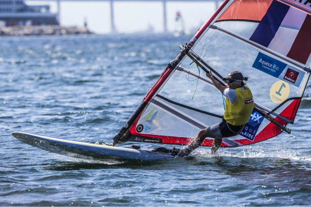 France's Charline Picon is a resounding favourite for top honours in the women's RS:X ©SailingEnergy/ISAF