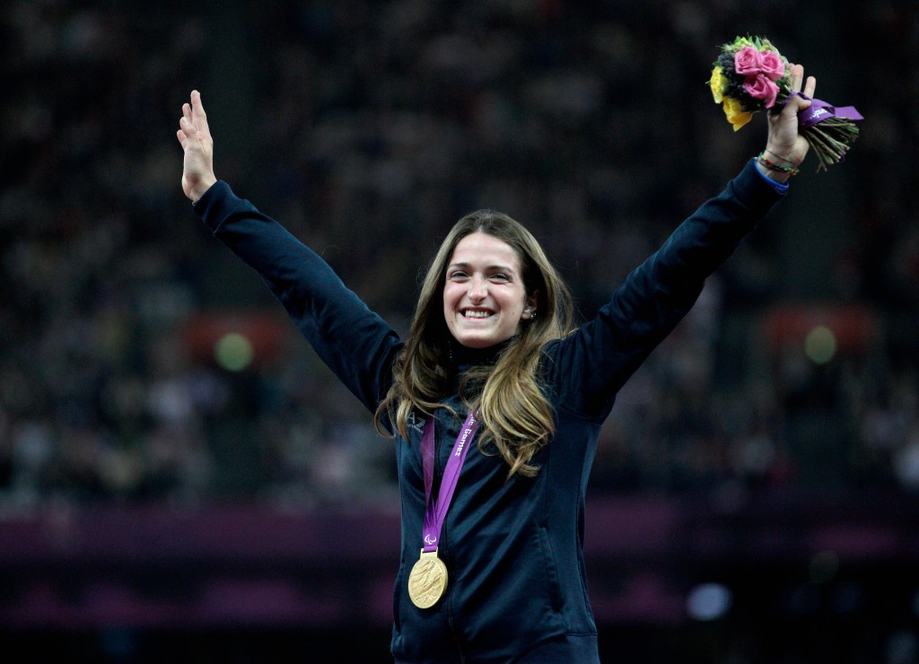 World and Paralympic champion announced as Italian Flagbearer for Rio 2016 Opening Ceremony