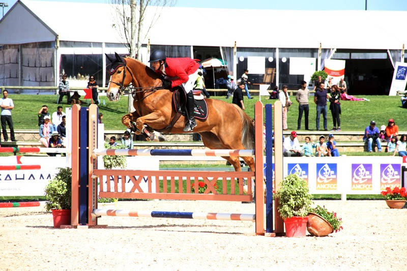 Lebanon's Maitala wins gold at thrilling FEI World Jumping Challenge Final in Rabat