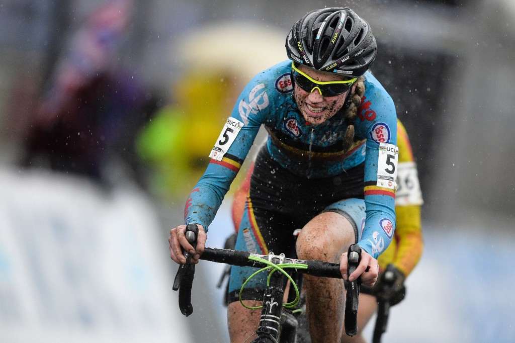 Femke Van den Driessche has been given a six-year ban by the UCI ©Getty Images