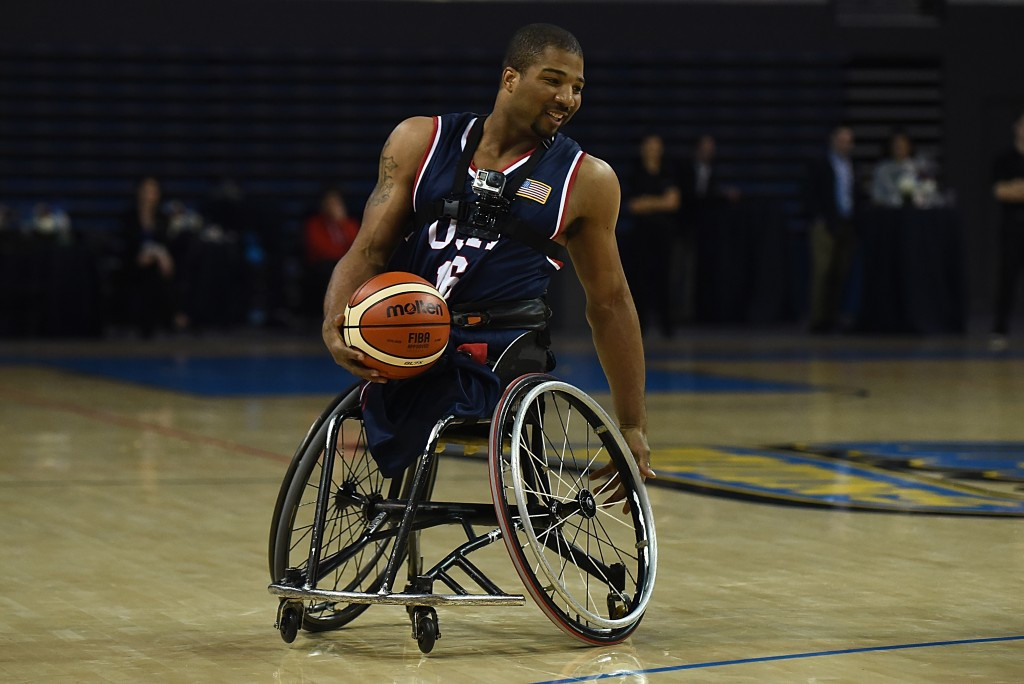 It is claimed the wheelchair gym will help American players to stay in top condition