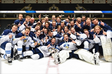 Finland end long wait for IIHF Under-18 World Championship title