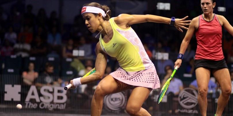 Laura Massaro loses gripping world squash final to Egypt's Nour El Sherbini