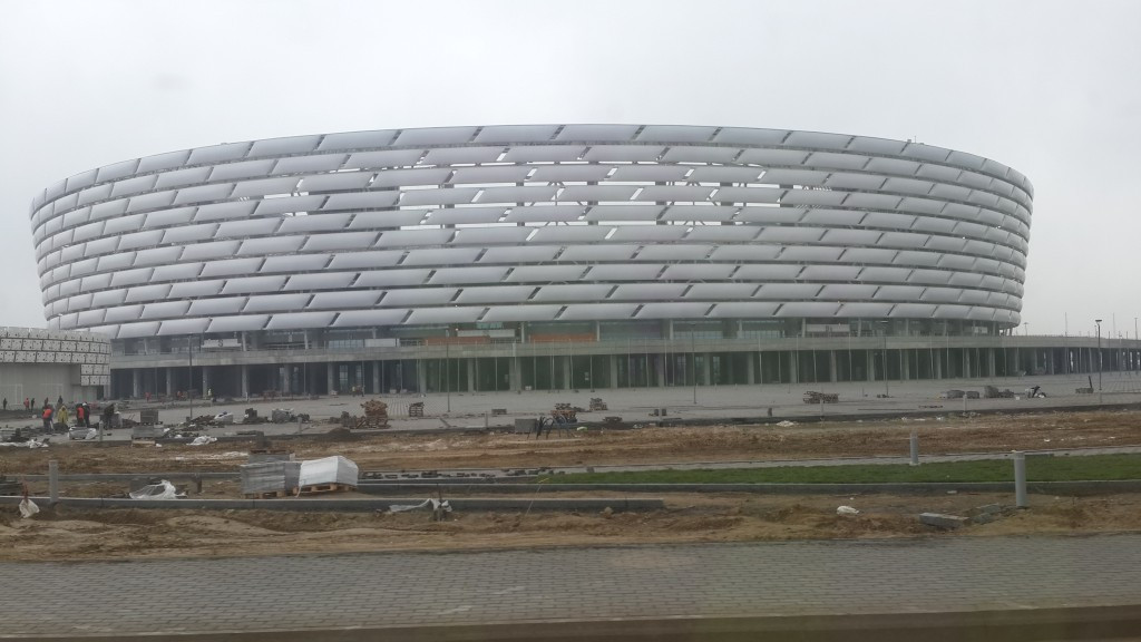 Igor Kazikov describes the Baku 2015 facilities, including the National Stadium, as being world class
