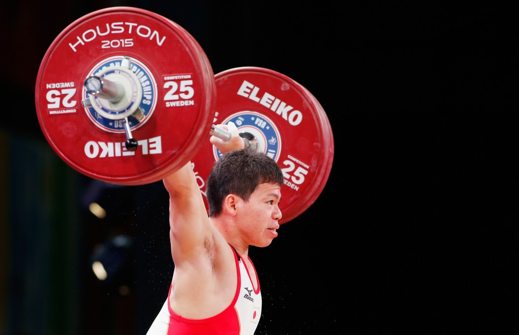 Japan's Yoichi Itokazu won the men's 62kg overall title