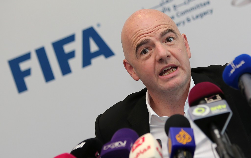FIFA President Gianni Infantino has been a constant advocate of the reform process ©Getty Images