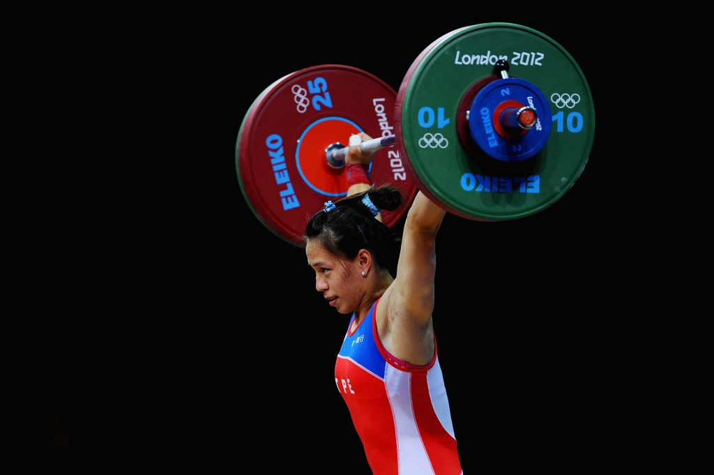 Former world champion Kuo claims gold at Asian Weightlifting Championships
