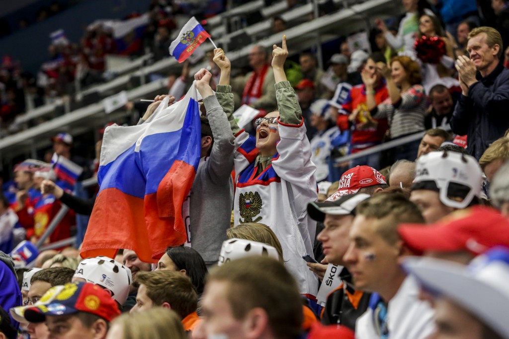 Strong ticket sales for 2016 IIHF World Championship in Russia
