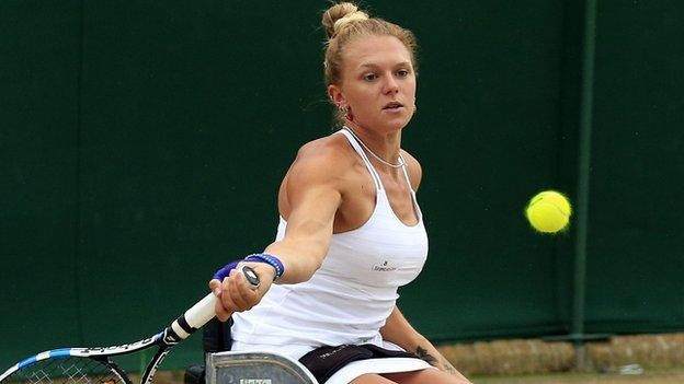 Winner of first-ever wheelchair singles title at Wimbledon to receive £25,000