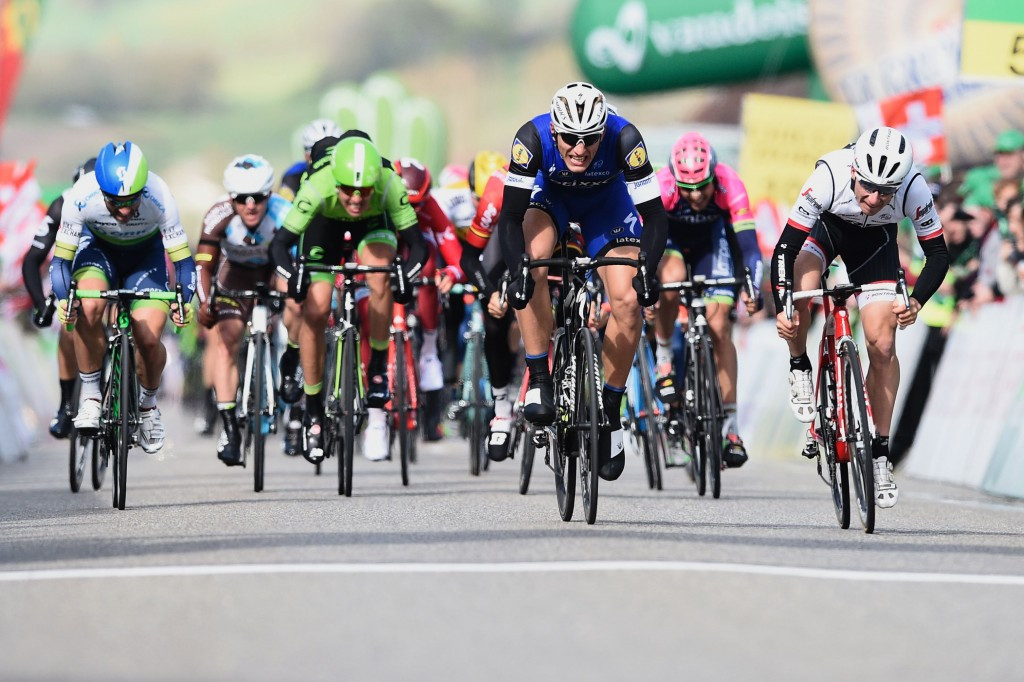 Kittel earns Tour de Romandie stage one victory on shortened route