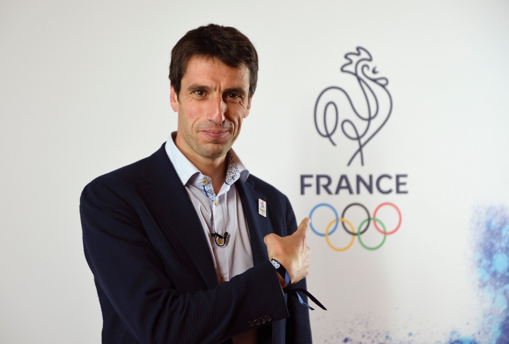 Paris 2024 co-chairman Tony Estanguet revealed French athletes at Rio 2016 will be given a survey after the Olympics to gain further ideas for their bid ©Getty Images