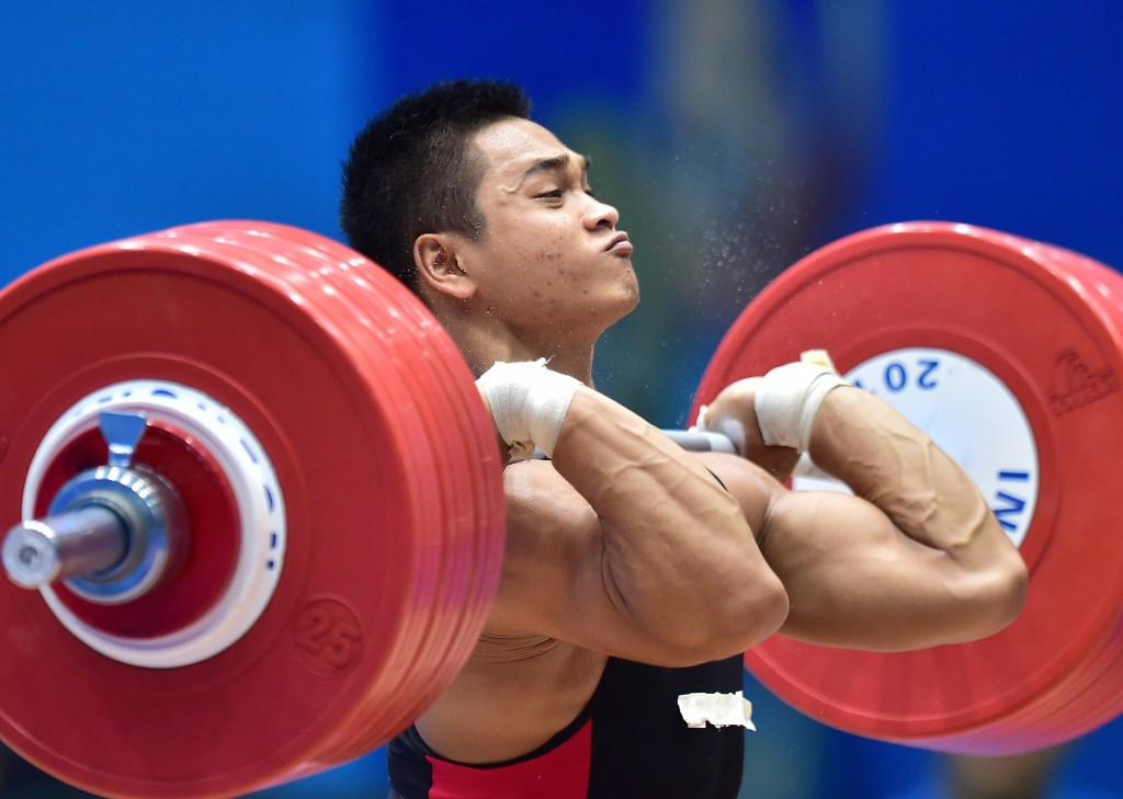 Thailand's Chatuphum Chinnawong had to settle for the runners-up spot in the men's 77kg category