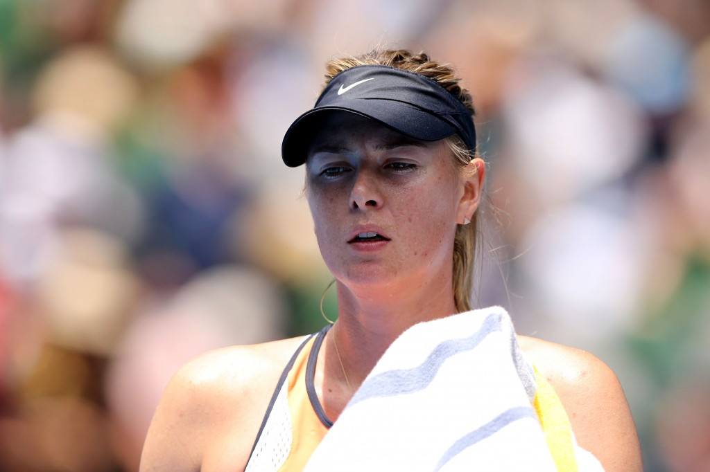 Maria Sharapova is another California-based Russian hoping to have her doping suspension for meldonium lifted ©Getty Images