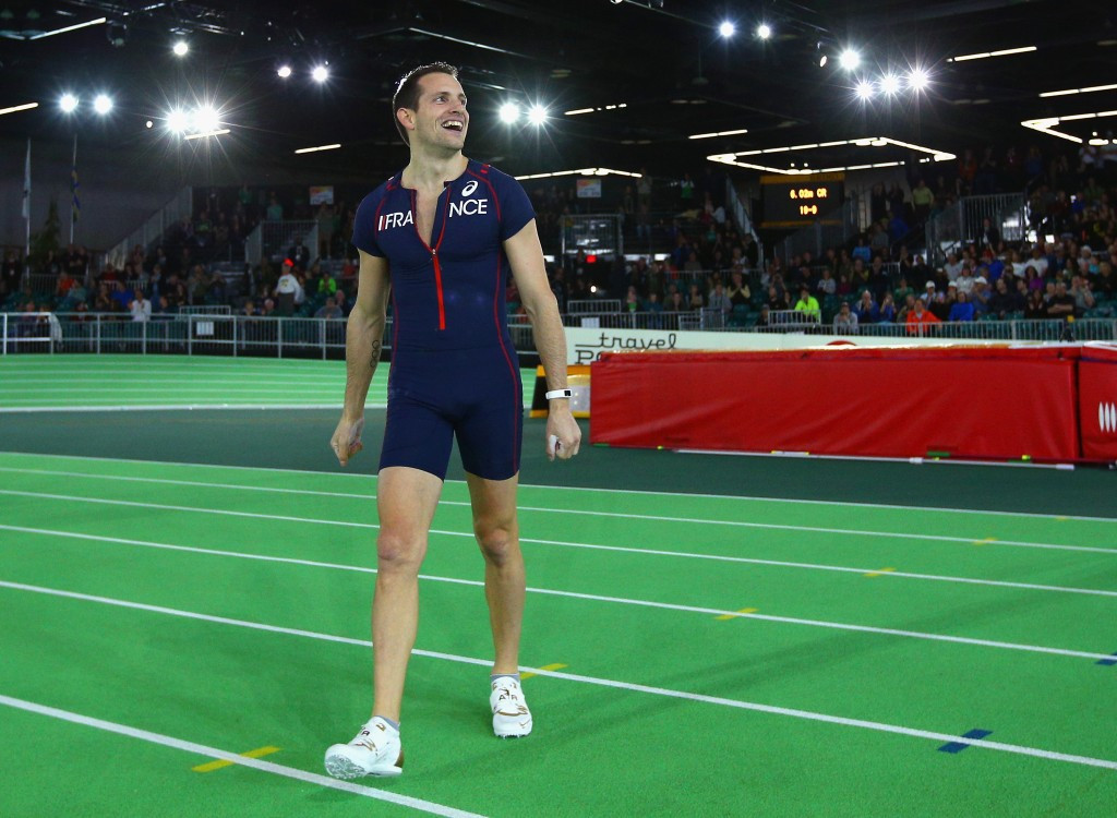 "Lavillenie claims Russian suspension from Rio 2016 could be a ""good thing"" for athletics"