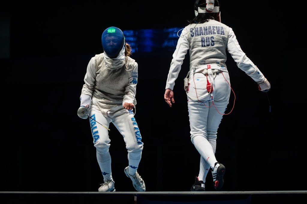 Italian fencing legend Vezzali retires after World Championship defeat to Russia