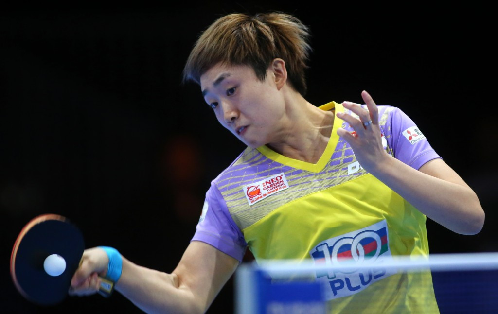 Feng battles past 15-year-old Japanese star as Asian Cup table tennis tournament begins