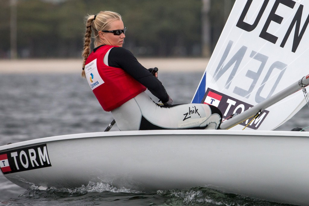 Rindom records perfect day as Chiavarini stutters at European Laser Championships