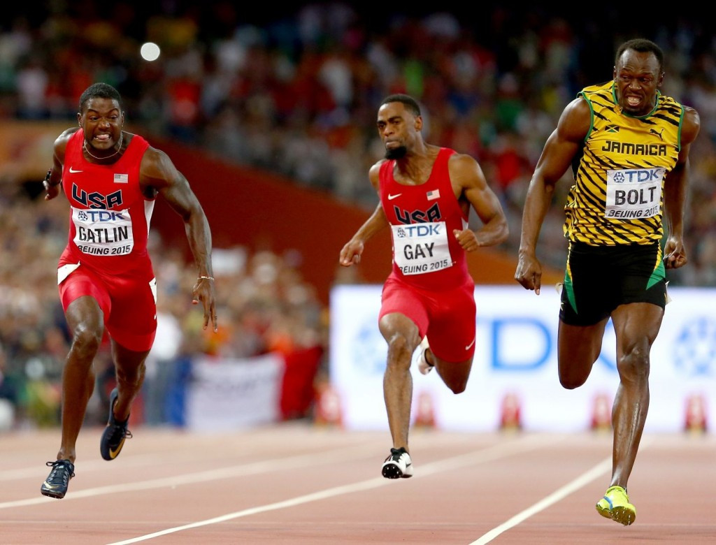 Mondo's track for the Beijing 2015 World Championships went down well with athletes and the Rio 2016 track, now installed, promises further advantages for competitors ©Getty Images