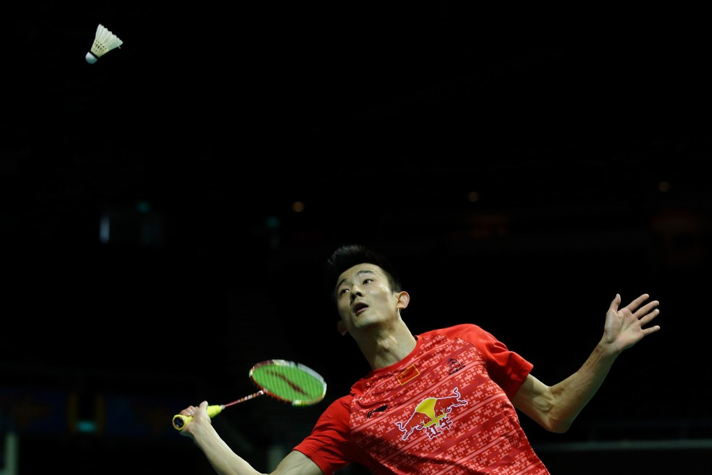 Chen Long of China beat top seed Kento Momota of Japan to progress to the final of the BWF French Open ©Getty Images
